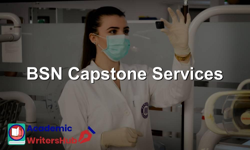 BSN Capstone Services