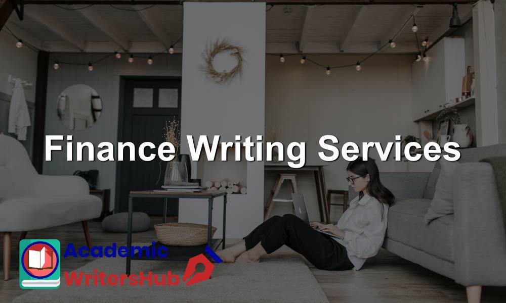 Finance Writing Services