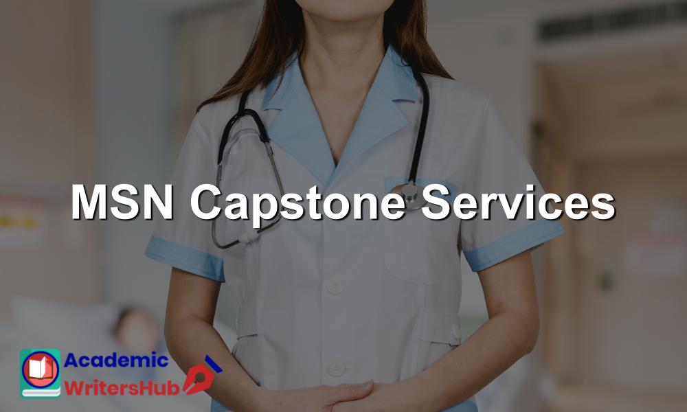 MSN Capstone Services