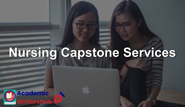 Nursing Capstone Services