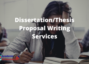 Dissertation_Thesis Proposal Writing